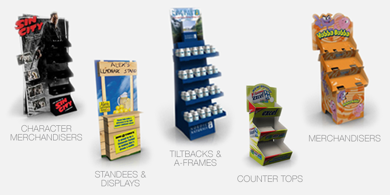 POP/POS Retail Displays